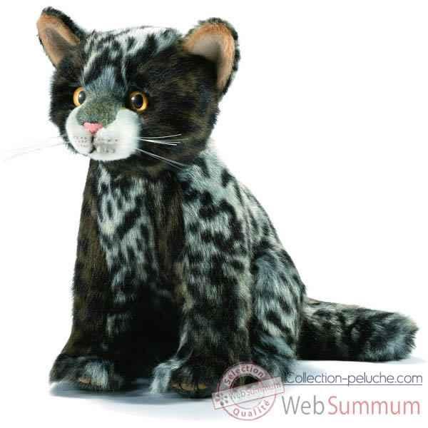 Anima - Peluche chatons tigre assis 22 cm -7046