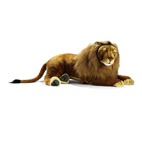 Anima - Peluche lion couche 100 cm -3952