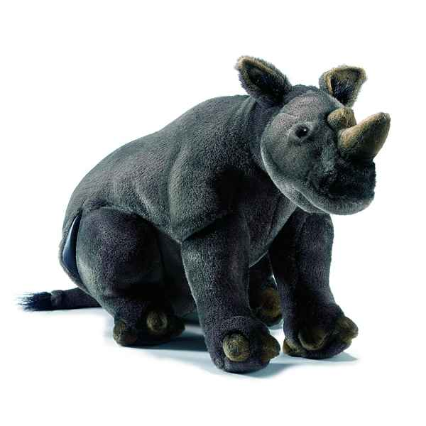 Anima - Peluche rhinoceros assis 43 cm -4232