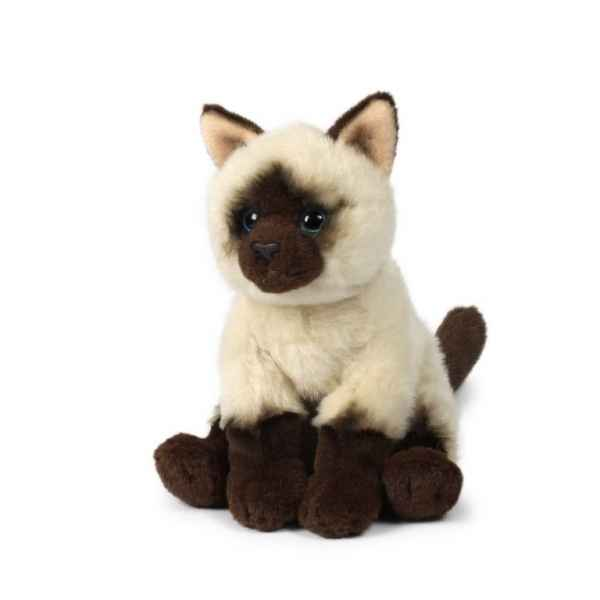 Peluche Chat assis 15 cm ACP -28179007