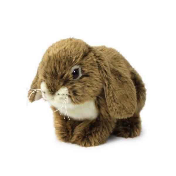 Peluche lapin assis marron 25 cm acp dans peluche lapin - Peluche lapin marron ...