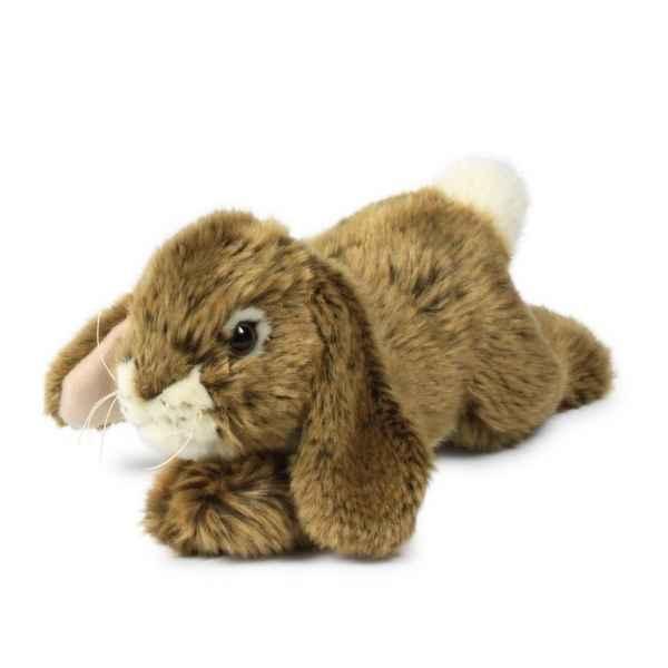 Peluche lapin couch marron 18 cm acp dans peluche lapin - Peluche lapin marron ...