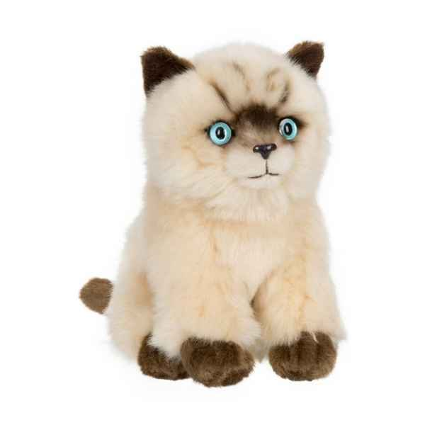 Peluche anna club plush chat siamois assis - 15 cm ACP -28179012
