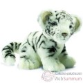 Video Anima - Peluche bebe tigre blanc assis 18 cm -3420