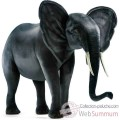 Video Anima - Peluche elephant 120 cm - 3237