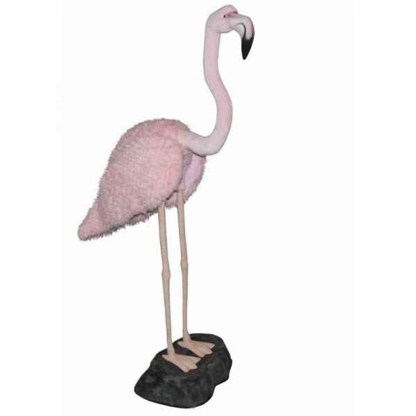 Peluche Flamant rose 165cmh Anima -5422