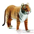Video Anima - Peluche tigre brun a 4 pattes 160 cm - 4329