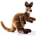 Video Anima - Peluche wallaby avec bebe 35 cm -2782