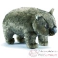 Video Anima - Peluche wombat gris 26 cm -3249