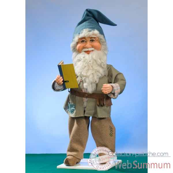 Automate - lutin du pere-noel parlant Automate Decoration Noel 576-AS