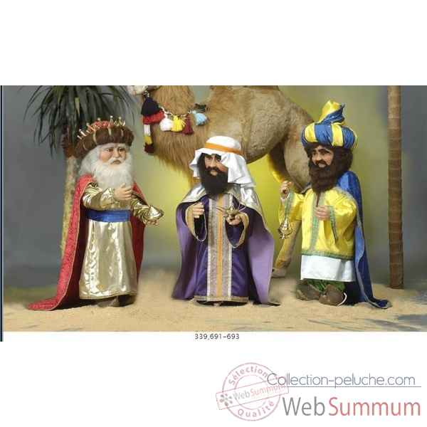 Automate - roi mage portant un turban Automate Decoration Noel 693