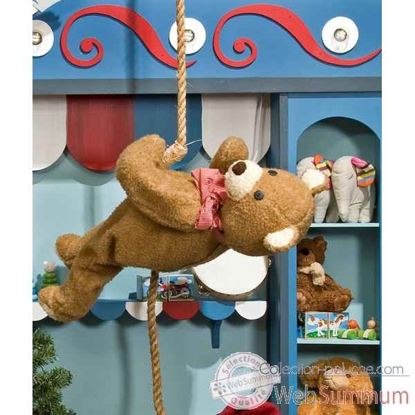 Automate - teddy bear suspendu Automate Decoration Noel 154