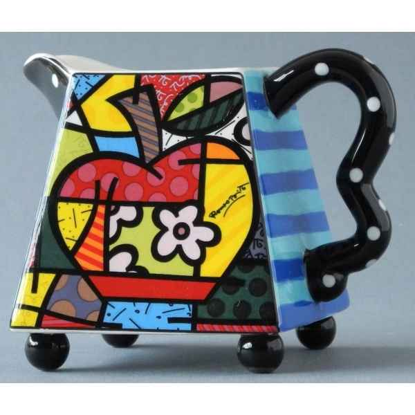Cream & sugar set Britto Romero -B330306