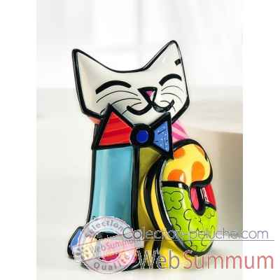 Figurine chat fun cat edition limitee Britto Romero -339022