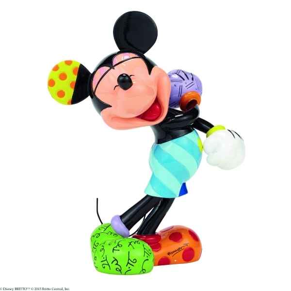 Figurine disney by britto laughing mickey mouse Britto Romero -4046356