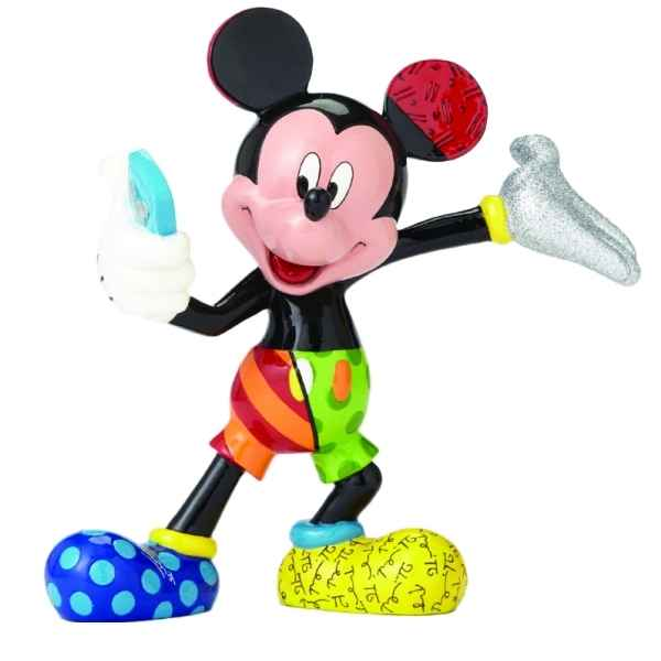 Figurine disney by britto mickey mouse selfie figurine Britto Romero -4055690
