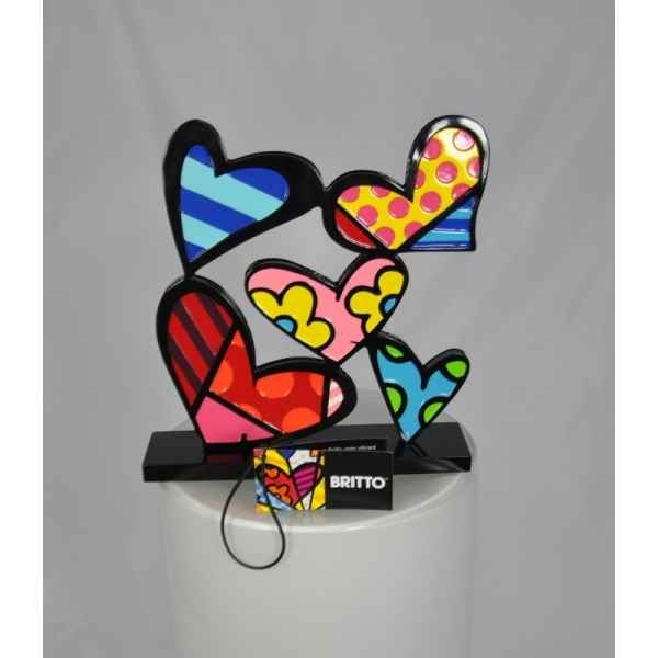 Heart design w base Britto Romero -B339123