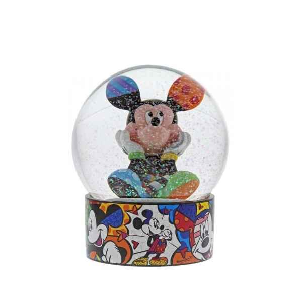 Figurine Mickey mouse waterball disney britto collection -6003349