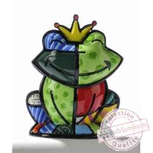 Mini figurine grenouille prince charmant Britto Romero -331382