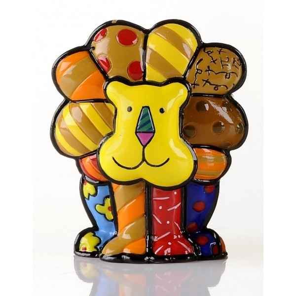 Mini figurine lion Britto Romero -B331846