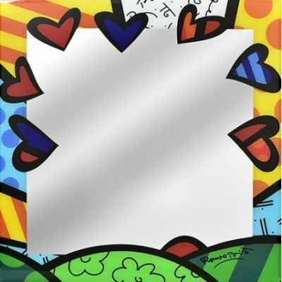 Mirroir a new day 30cm Britto Romero -B334293