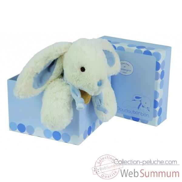 lapin bonbon doudou bleu de doudou et compagnie. Black Bedroom Furniture Sets. Home Design Ideas