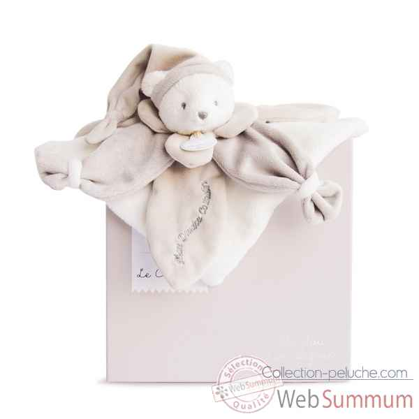 Peluche collector ours taupe Doudou et Compagnie -DC2922