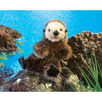 Baby sea otter Folkmanis -2960