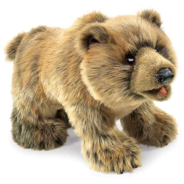 Ours Grizzly Folkmanis -2954
