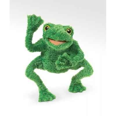 Grenouille longues pattes Folkmanis -2956