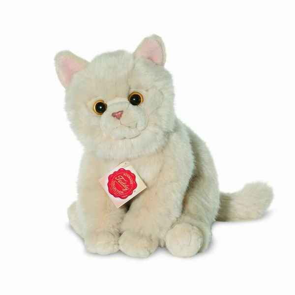 Chat beige 24 cm hermann -90693 3