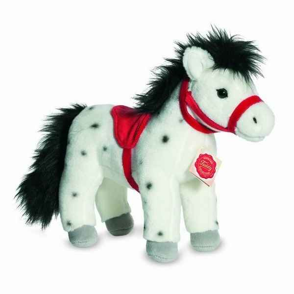 Cheval dapple-grey 28 cm hermann -90236 2