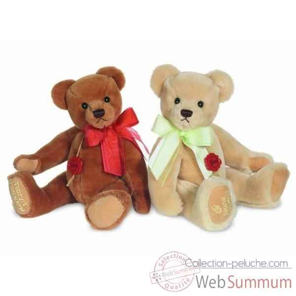 Peluche Congratulation bear champagne Hermann Teddy original 30cm 12022 3