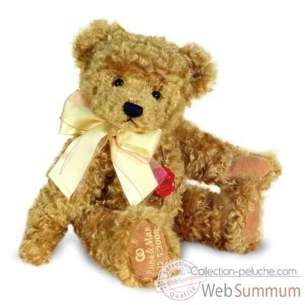 Peluche Congratulation Teddy gold musical la primavera Hermann Teddy original 36cm 12028 5