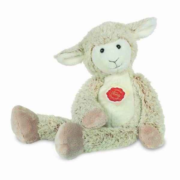Peluche Pantin mouton creme Hermann Teddy collection 32cm 94622 9