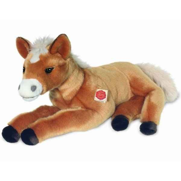 Peluche Cheval poulain couche Hermann Teddy collection 50cm 90248 5