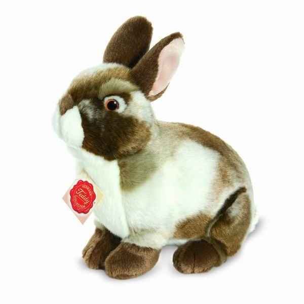 Lapin marron 22 cm hermann -93764 7