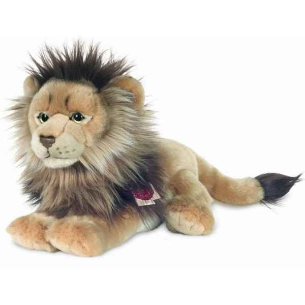 Peluche Lion couche Hermann Teddy collection 32cm 90447 2