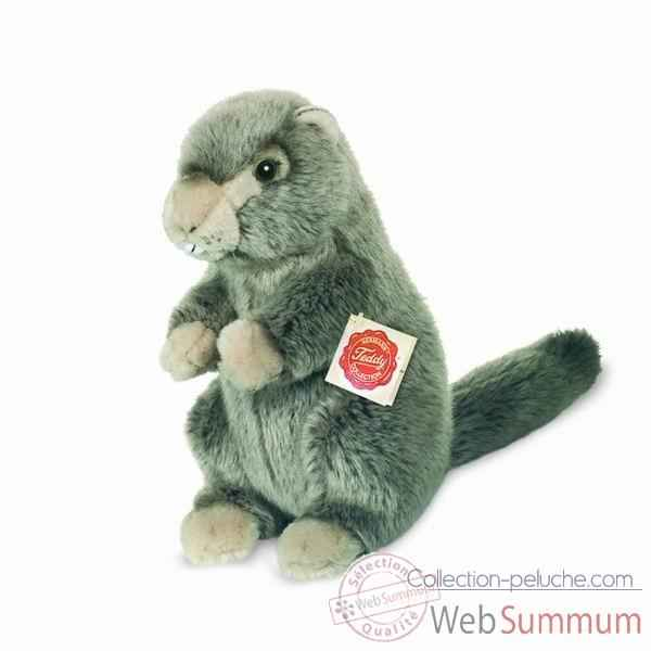 Peluche Marmotte Hermann Teddy collection 22cm 92638 2