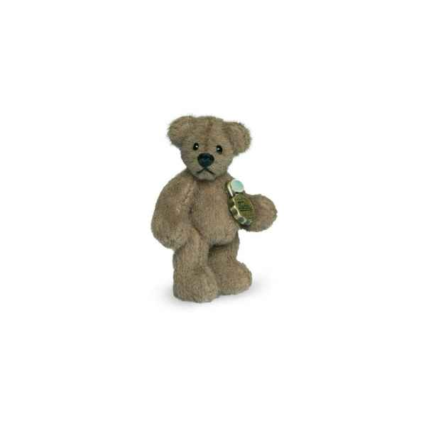 Mini ours teddy bear marron 4 cm Hermann -15404 4