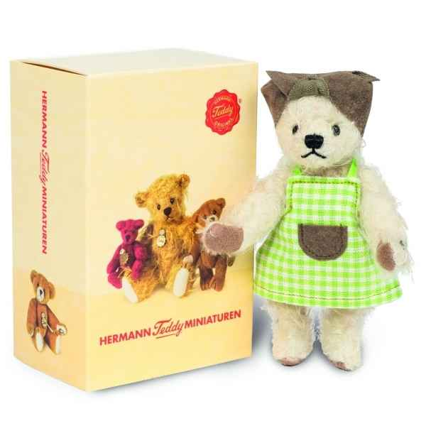 Mini peluche de collection menagere minna 11 cm  ed. limitee Hermann -15480 8