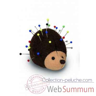 Mini peluche de collection herisson epingles 8 cm Hermann -17049 5