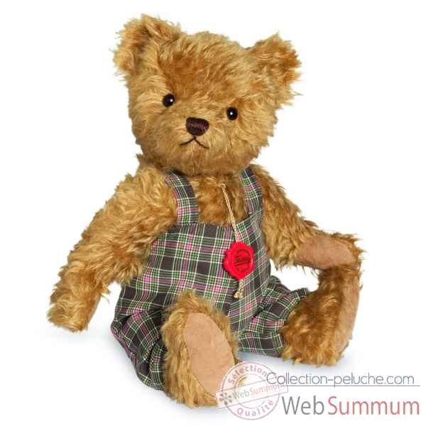 Ours en peluche de collection alfons 32 cm hermann -16438 8