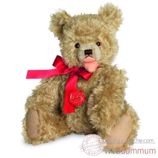 Ours en peluche de collection antique gold 40 cm hermann -16444 9