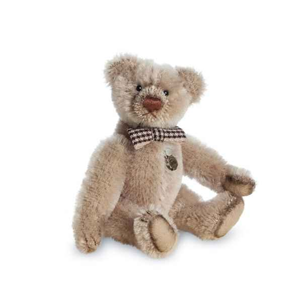 Ours en peluche de collection antique taupe 10 cm hermann -15489 1