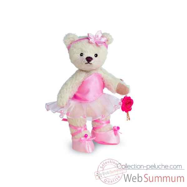 Ours en peluche de collection ballerine rose 13 cm hermann -11704 9