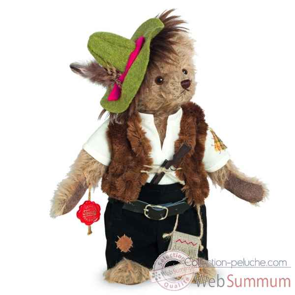 Ours en peluche de collection bandit 28 cm hermann -13825 9