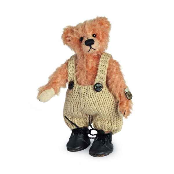 Ours en peluche de collection klausi 10 cm hermann -15085 5