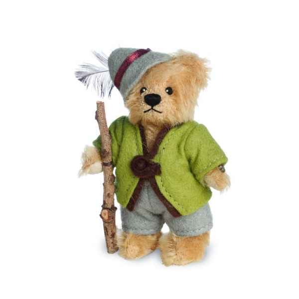 Ours en peluche de collection laurenz 10 cm hermann -15497 6