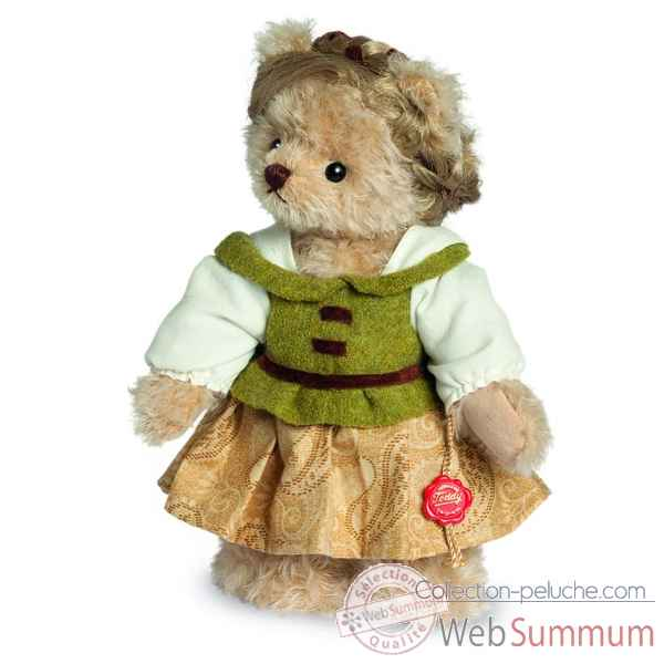 Ours en peluche de collection lieselotte 23 cm hermann -17227 7